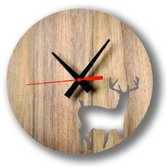 wood clock.... | Down that Little Lane