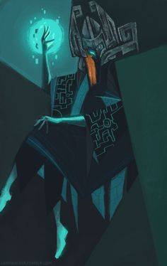"landwalker: ""My attempt at redesigning Midna for the CDC "" The Legend Of Zelda, Legend Of Zelda Characters, Legend Of Zelda Breath, Fantasy Characters, Character Concept, Character Art, Concept Art, Character Design, Character Ideas"
