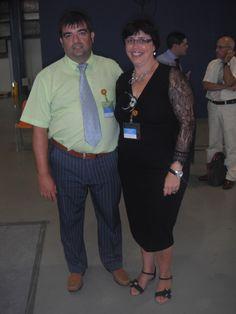 con mi mujer , vestida con  Paola Dress de IGIGI by Yuliya Raquel