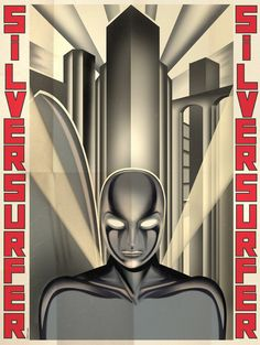 posters superheroes DECO Silver Surfer
