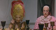 Fellini's film Casanova, the genius of Danilo Donati - won an Oscar for this costume design
