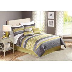 Better Homes and Gardens 7-Piece Trellis Comforter Set