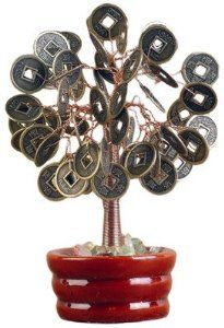 Oriental Furniture Funny #Graduation #Gift Idea, 4-Inch Traditional Asian Lucky Coin Good Wishes Money Tree