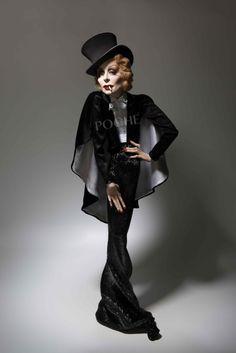 """Marlene Dietrich"" www.dustinpoche.com"