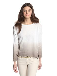 58% OFF 525 America Women's Dip Dye Pullover (Beechwood Combo)