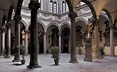 Michelozzo di Bartolomeo, Palazzo Medici-RIccardi (began 1446), FLorence, they family ran the whole city-state of Florence pretty much. Description from studyblue.com. I searched for this on bing.com/images