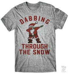 Dabbing through the snow!