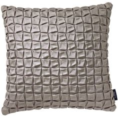 Sahco Cosmo Cushion - 40x40cm - Stone ($69) ❤ liked on Polyvore featuring home, home decor, throw pillows, grey, stone home decor, gray home decor, grey home decor, grey accent pillows and textured throw pillows