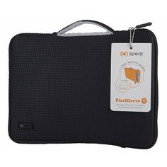Sleeve for iPad and MacBook - Black NWT Speck 10 inch Pixel  #Speck