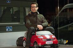 James Tont alla presentazione Opel Adam
