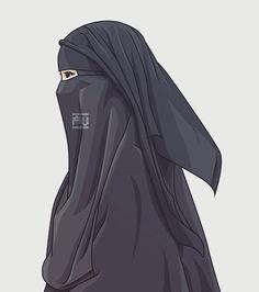 hijab v burka - Hijab Modest Fashion Hijab, Niqab Fashion, Hijabi Girl, Girl Hijab, Hijab Bride, Muslim Girls, Muslim Women, Muslim Pictures, Instant Hijab