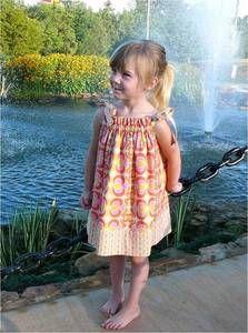 "Image of ""SEW CUTE"" Dress  6 mos - 14 child"