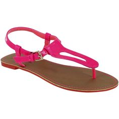 Just 4u  sandal (Bright Pink).Somebody says neon!