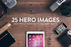 Check out 25 Header/Hero images - Wood series by RAPPIDLY on Creative Market