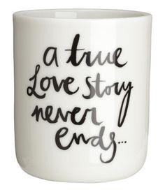 { love story mug }