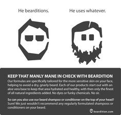 """Don't be a """"whatever"""" user. Get bearditioning."""