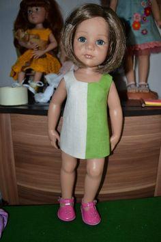 Шьем вместе. Мастер-класс по пошиву платья для кукол Готц 50 см. / Мастер-классы, творческая мастерская: уроки, схемы, выкройки кукол, своими руками / Бэйбики. Куклы фото. Одежда для кукол