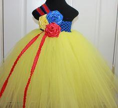 snow white tutu I'm going to get my tutu maker to make all the Disney princess inspire tutu dresses for my princess, Xx