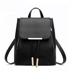 $24.99 (Buy here: https://alitems.com/g/1e8d114494ebda23ff8b16525dc3e8/?i=5&ulp=https%3A%2F%2Fwww.aliexpress.com%2Fitem%2FBackpack-ladies-2016-new-fashion-backpacks%2F32605529734.html ) Drawstring backpacks for teenage girls ladies 2016 black backpacks for women mochila rugtas sac a dos femme for just $24.99