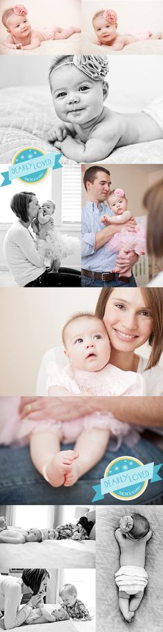 four month baby photo posing ideas