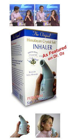 Salt Inhalation Helps Keep Your Sinus Clear