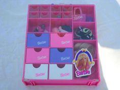 Barbie storage cabinet for excessories  sc 1 st  Pinterest & 47 best Barbie Storage images on Pinterest   Barbie doll Barbie ...