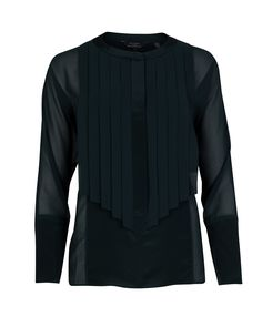 TRINKAH - Pleated front panel shirt