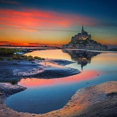 Mont San Michel, Normandy