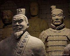 L'incroyable armée en terre cuite de l'empereur Qin Shi Huangdi à Xi'an