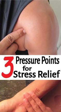 3 Pressure Points for Stress Relief