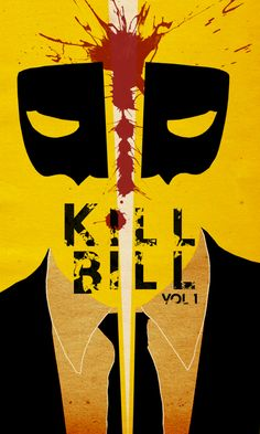 KILL BILL - fan art by The Bear Jedi - Celebrating 10 Years of Kills https://www.facebook.com/KillBillMovie