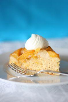 Vegan Peach Cake