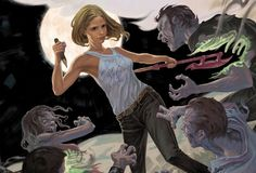 """""""Every time I try to get out, they pull me back in!"""" Totally overdone? M'kay, how about """"I wish I could quit you!"""" Yeah, equally played out. Oh well, I thought it would be appropriate to open a review of the latest comic book """"season"""" of Dark Horse's Buffy the Vampire Slayer with some pop culture quoting. It seemed the Whedon-y thing to do, but he's better at it than me, although the above sentiments are true; I can never seemingly stay away from the ..."""