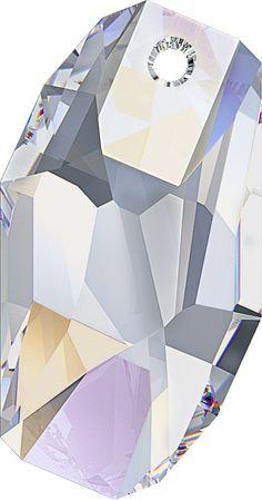 #6673 Meteor Pendant in Crystal AB