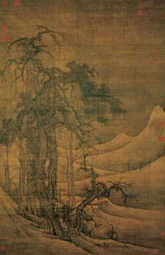 https://flic.kr/p/6pXvte   宋-郭熙-寒林图   Painted by the Song Dynasty artist Guo Xi 郭熙.