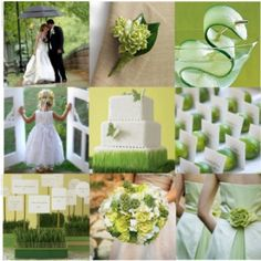 GO GREEN on your special day!