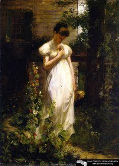 Flower of Memory  Theodore Robinson