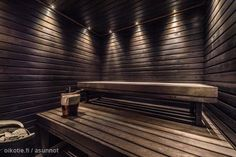 Lighting for sauna? Sauna Shower, Shower Cabin, Saunas, Sauna Design, Finnish Sauna, Outdoor Sauna, Spa Rooms, Sauna Room, A Frame House