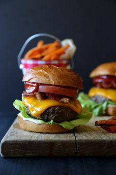 umami blt cheeseburger