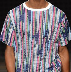 patternprints journal: PRINTS, PATTERNS, TEXTURES AND TEXTILE SURFACES FROM MENSWEAR S/S 2016 COLLECTIONS / Casely Hayford