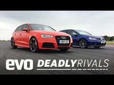 Audi RS3 vs Volkswagen Golf R | evo DEADLY RIVALS - YouTube