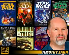 *PIN to WIN* Meet sci-fi author Timothy Zahn at #SLCC15! Known for Star Wars novels, The Thrawn Trilogy and more! #utah