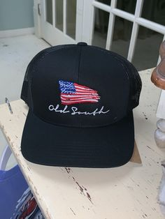 6acaf65485a963 American Flag Red Distressed Hat in 2019 | Spring outfits | Hats ...