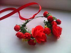 AtaJanson / Kvetinový štvrťvenček alebo náramok