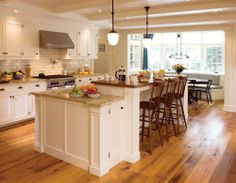 Classic White Kitchen (Cultivate.com)