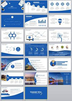 templates Video Features: Blue business PowerPoint templates Easy and fully editable in PowerPoint (shape color, size, position, etc) Easy customizable contents Powerpoint Presentation Examples, Cool Powerpoint, Business Powerpoint Templates, Professional Powerpoint Templates, Presentation Layout, Business Presentation, Keynote Template, Presentation Slides, Flyer Template