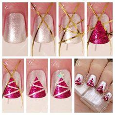 Easy Christmas Nail Art Tutorial