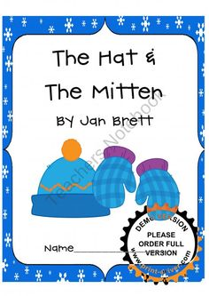 Jan Brett: The Hat & The Mitten product from TheVeryBusyFirstGraders ...