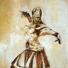 Flamenco II by Monica Galvan.   I love this. Her stance exudes power.