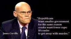 Pax on both houses: James Carville: Why Republicans Want Small ...